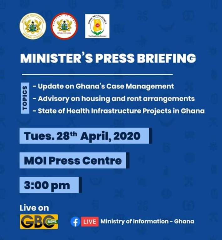 Minister's Media briefing