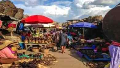 Obuasi market