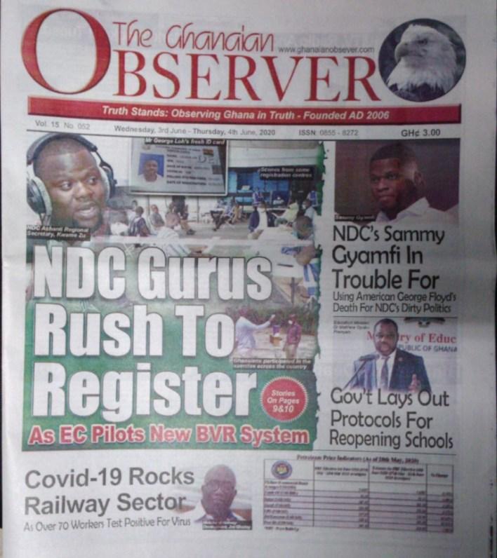 The Ghanaian Observer