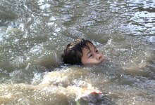 8 small kids suffocate in a waterway