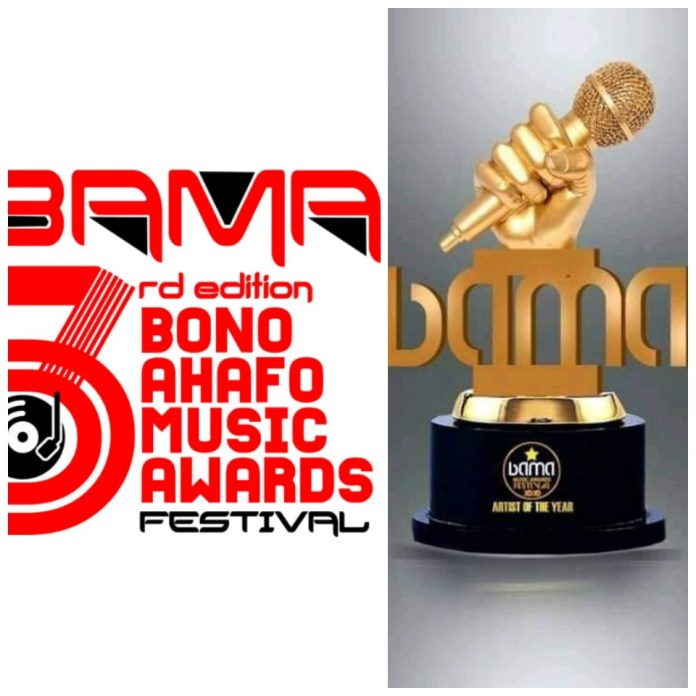 BAMA Officials shortlisted First Batch Nominees For Bono Ahafo Music Awards