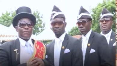 Ghana pallbearer comic video