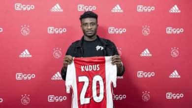 Ghanaian player Kudus Mohammed signs new deal with Ajax FC.