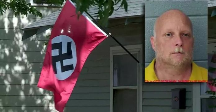 Oklahoma Woman Shot While Trying To Remove Nazi Flag