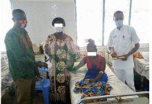 Sick Community Health Nurse Receives Gh¢3.6k Donation From Brong Ahafo Regional Branch of GRNMA