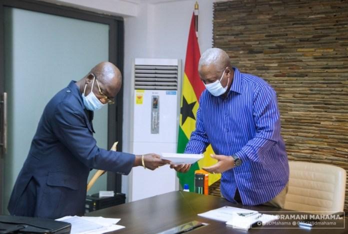 John Mahama receives NDC 2020 manifesto