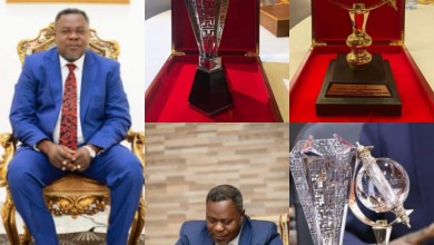 """Dr. Kwaku Oteng Honored With """"DESTINY CHANGER"""" Award forCOVID-19 fight In Accra, Ghana."""