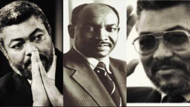 Ghana's 1st President