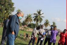Kosta Papic Visit Hearts Team
