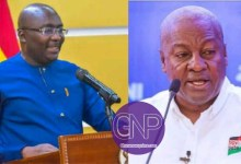 GNP: Bawumia Is The Only Match To Mahama In 2024 -NPP Youth Opinion Poll