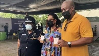 John Dramani Mahama And Wife Receive Covid-19 Vaccine