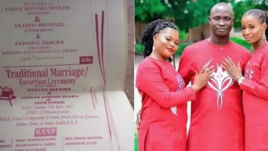 Shocking! Man Set To Wed Two women On The Same Day