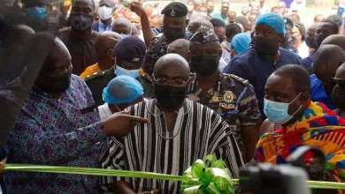 """Hon. Alan John Kwadwo together with Dr. Mahamudu Bawumia commissions """"NANO FOODS LIMITED"""", an initiative under 1D1F."""