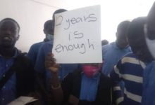 Akropong School of The Blind Protest Against 'Abusive' Headmistress