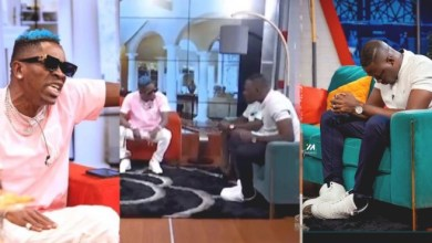 Shatta Wale clashes with Arnold