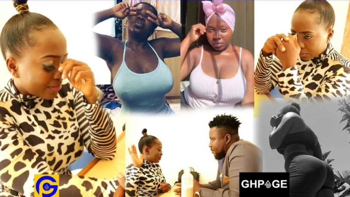 Akua Saucy finally open up on how her bedroom photos & videos hit online