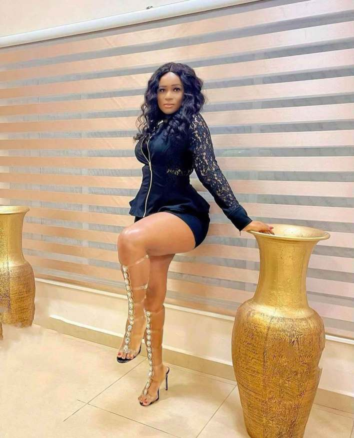 Christabel Ekeh is back to factory settings