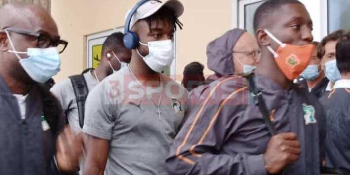Ivory Coast national team arrive in Ghana ahead of friendly game against Black Stars