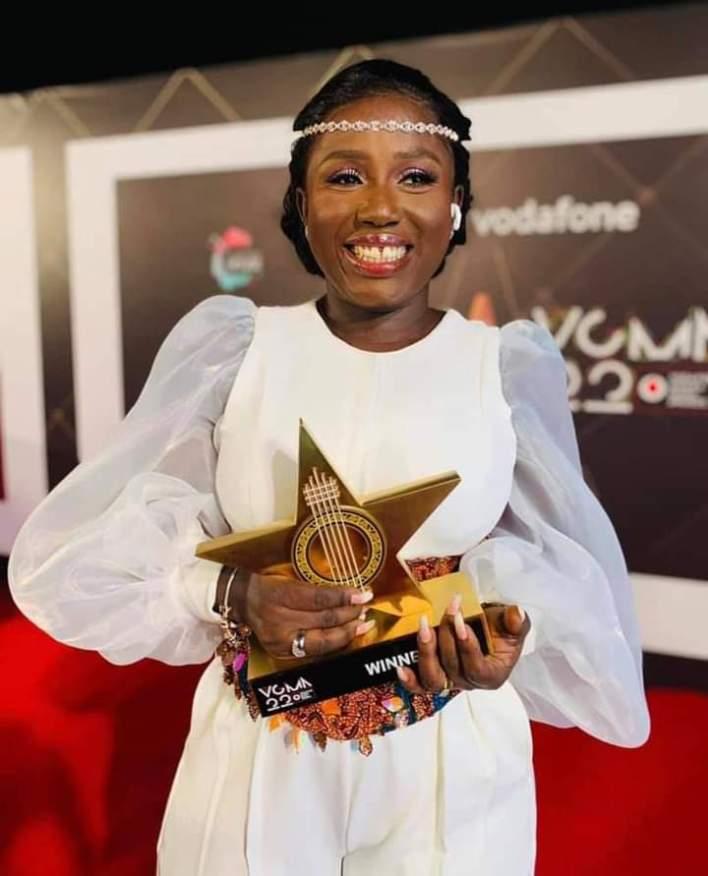 #VGMA22: Diana Hamilton Wins Artiste of the Year