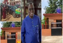 Photo of Sir John's 'mansion' tombstone hits online ahead of his burial