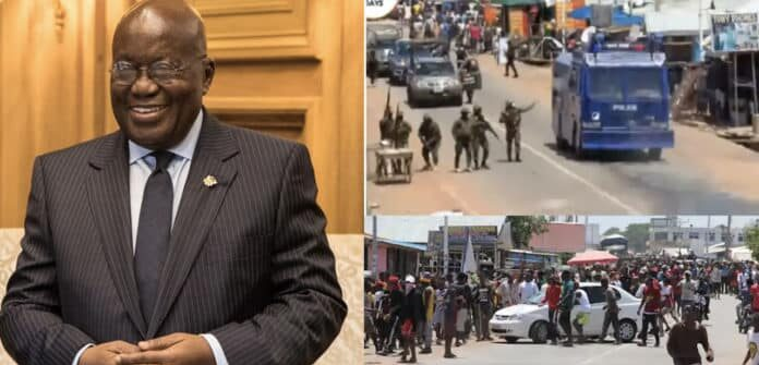 President Akufo-Addo instructs Interior Minister to undertake a public inquiry into incidents at Ejura