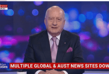 Multiple global and Australian news sites down including BBC, SMH, Age