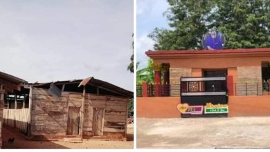 Social Media Users Reacts To Sir John's Mansion Tomb [Photos]