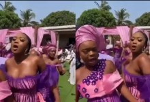 See what A Bridesmaid Wore To Her Friends Marriage That Got People Talking [Photos]
