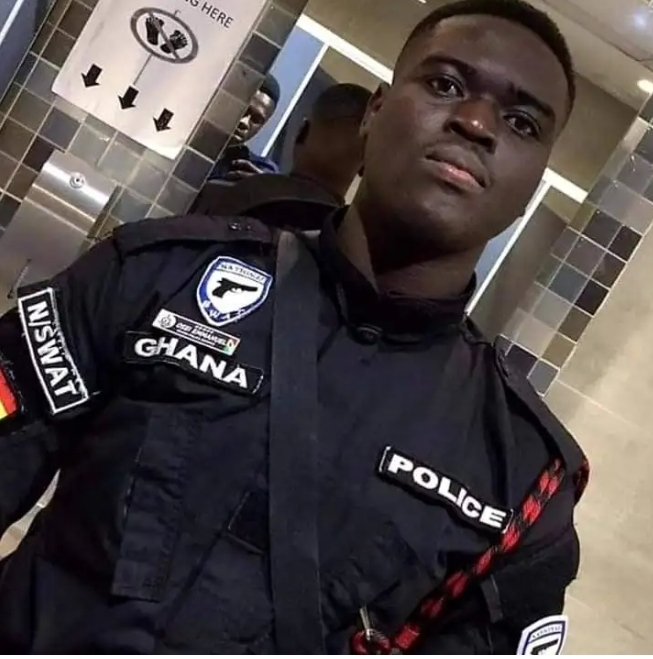 Photos of Police Officer killed in the bullion van robbery attack