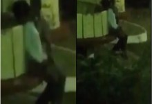 students filmed fing£ring, k!ssing and ch0pping each other in public at night [Video]