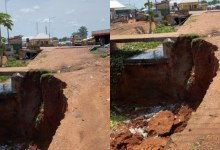 Death Trap: Bole Bamboi residents call on Gov't to come to their aid