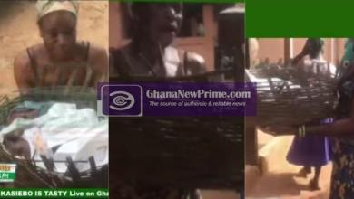 Wicked Mother: Newly Born Baby Put In A Basket For Sale