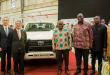 Akufo-Addo commissions Toyota, Suzuki Vehicle Assembly Plant