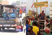 Two persons shot dead as military men clash with angry youths