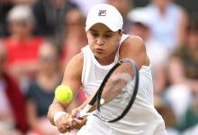 Ash Barty joins Wimbledon crowd in standing ovation for her opponent