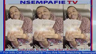 "Glass ""Nkoa"" Twene Jonas sprays 100 dollar notes"