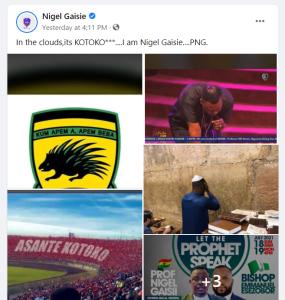Nigel Gaisie's Prophecy Has Fall Flat As Hearts Beat Kotoko To Top League Table