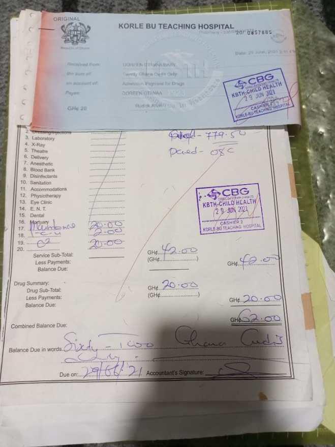 Korle Bu Accounts Officer caught taking bribes to slash bills of patients [Video]
