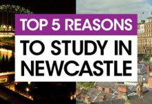 Top 5 reasons to study in Newcastle