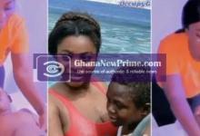 Video of Vivian Okyere Massaging Yaw Dabo Topless Till He Melted