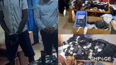 [Photos] Police arrest 5 fake currency dealers in Dansoman