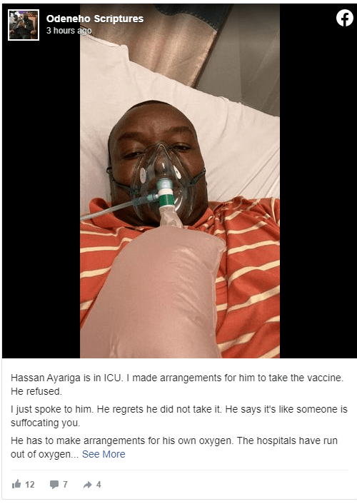 Hassan Ayariga hospitalized in ICU for contracting Covid-19