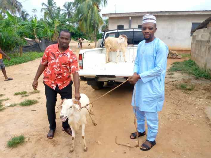 MP Celebrates Eid-Ul-Adha With Muslim Community Donates Rams.