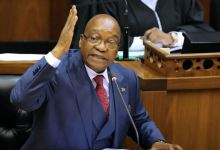 Former South Africa President, Jacob Zuma Reacts To His Jail Sentence