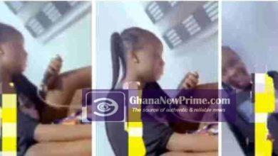 Tears flow lady as she begs her boyfriend not to leave her [Watch Video]