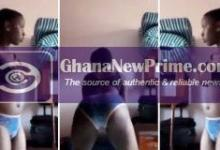 SHS 2 student l£aks her own b£droom videos online