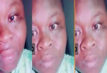 """SAD Video: """"Kwame don't bring back memories, I hate you"""" - Heartbroken Lady cries uncontrollably"""