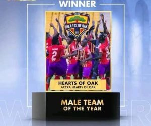 Ghana Football Awards: Accra Hearts of Oak named male team of the year