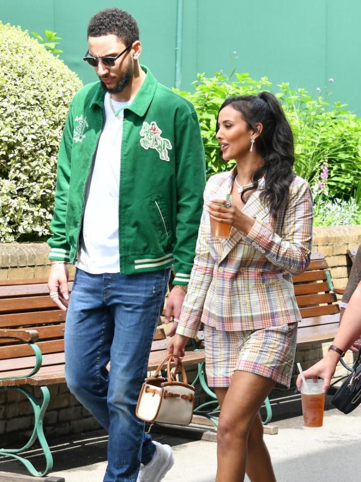 Ben Simmons' Wimbledon PDA confirms new relationship with Maya Jama