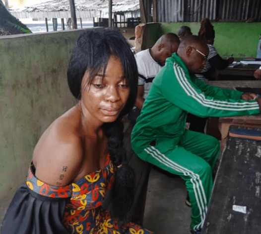 Lady kills boyfriend and absconds with Benz Car [Photos]